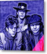 Stevie Ray Vaughan And Double Trouble Collection Metal Print