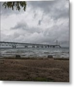 Straits Of Mackinac Metal Print
