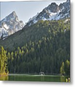 String Lake Reflection Metal Print