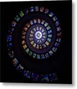 Colorful String Of Diamonds Metal Print