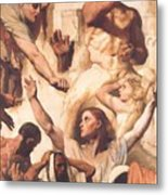 Study For The Martyrdom Of St Symphorien 1834  Metal Print