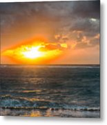 Sunrise At Kapaa - Kauai Metal Print