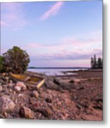 Sunset In New England Metal Print