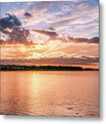 Sunset Over The Bay.......... Metal Print