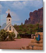 Superstition Mountain State Park Metal Print