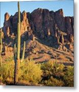 Superstition  Mountains Arizona Metal Print