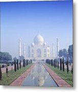Taj Mahal View Metal Print