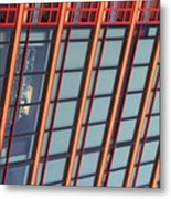 Tall Building Showing Colors #2 Metal Print