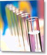 Test Tubes In Science Lab Metal Print