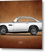 The Aston Martin Db5 Metal Print