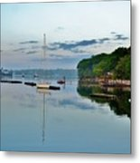 The Bass River At Dawn, Beverly Ma Metal Print