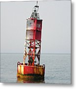The Bell Buoy Metal Print