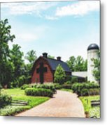 The Billy Graham Library Metal Print