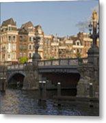 The Bridges Of Amsterdam Metal Print