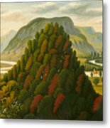 The Connecticut Valley Metal Print