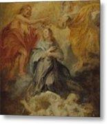 The Coronation Of The Virgin Metal Print