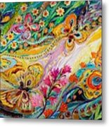 The Dance Of Butterflies Metal Print
