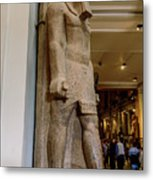 The Egyptian Museum Of Antiquities - Cairo Egypt Metal Print