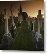The Graveyard Metal Print