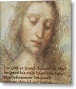 The Head Of Christ Metal Print