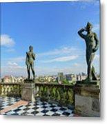 The Historical Castle - Chapultepec Castle Metal Print