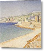 The Jetty At Cassis Opus 198 Metal Print