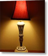 The Lamp Metal Print
