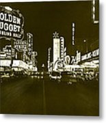 The Las Vegas Strip Metal Print