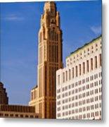 The Leveque Tower Of Columbus Ohio Metal Print