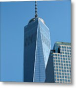 The One World Trade Centre Or Freedom Tower New York City Usa Metal Print