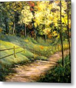 The Pathway Of Life Metal Print