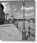 The Promenade At Barton Marina Metal Print