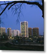 The Richmond, Virginia Skyline Metal Print
