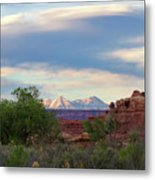 The Shining Mountains Metal Print