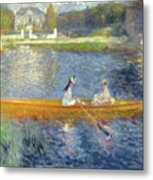 The Skiff Metal Print