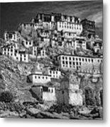 Thiksey Monastery Metal Print