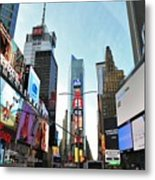Times Square New York City Metal Print