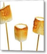 Toasted Marshmallows Metal Print