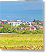 Town Of Vrbovec Landscape And Architecture Metal Print