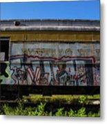Train Art Metal Print