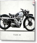 Triumph Tiger 80 1937 Metal Print