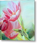 Tulipes Metal Print