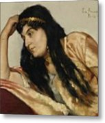Turkish Woman Metal Print