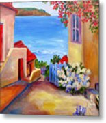 Tuscany Village  Metal Print