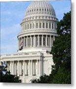 U S Capitol Metal Print