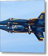 U S Navy Blue Angeles, Formation Flying Metal Print