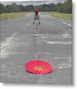 Umbrella Metal Print by Joana Kruse