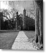 University Of Michigan Law Quad Metal Print