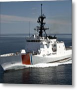 U.s. Coast Guard Cutter Waesche Metal Print