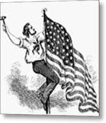 U.s. Flag, 19th Century Metal Print